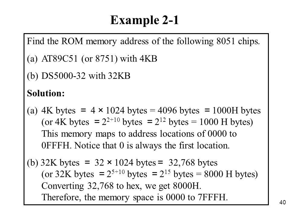 assembler directives of 8051 pdf