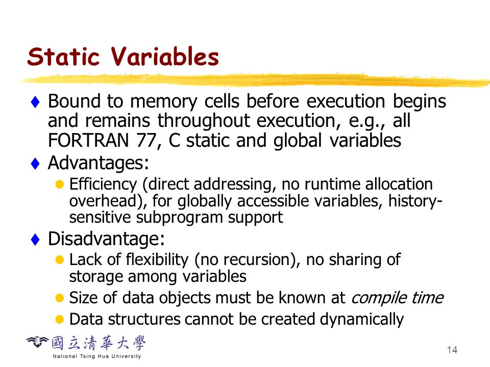The Concept of Variables - ppt video online download