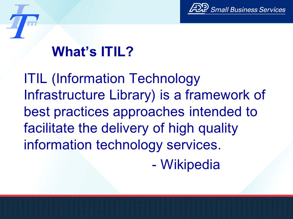 Itil Introduction Linpei Zhang April Ppt Video Online Download