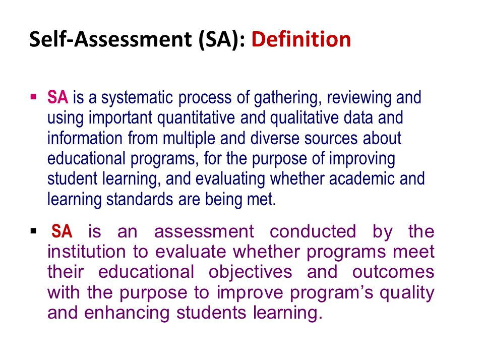 Window-1: [ Self-Assessment Exercise - ppt video online download