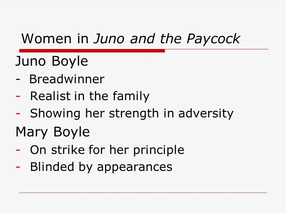 major themes in juno and the paycock