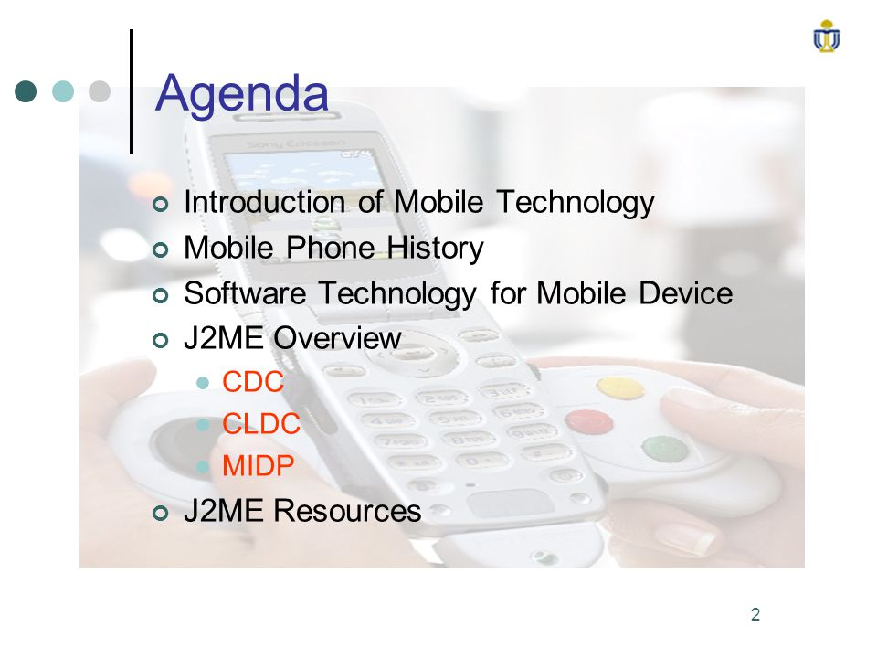 Introduction of J2ME  - ppt video online download