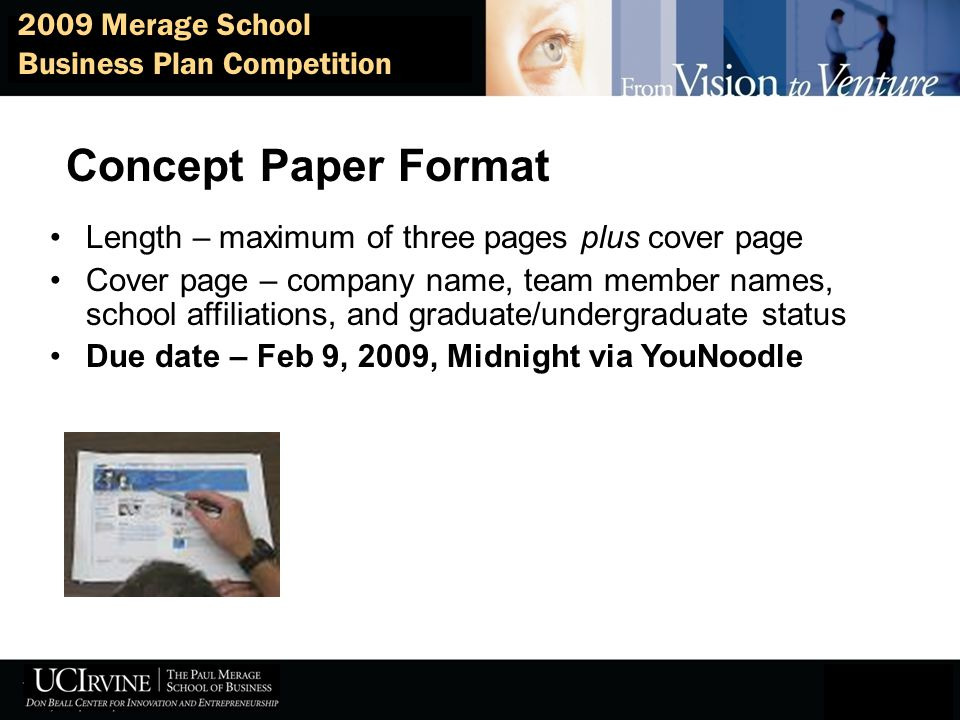 How to develop a winning concept and lead your team to success ppt 9 concept paper format friedricerecipe Gallery