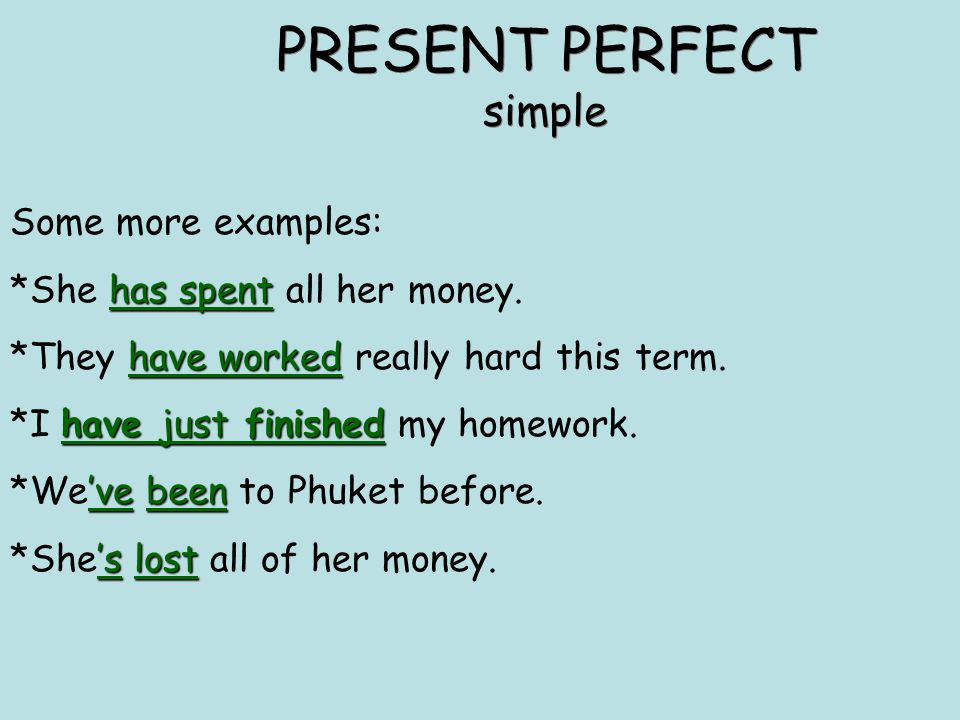 Present Perfect Examples Choice Image Example Cover Letter For Resume