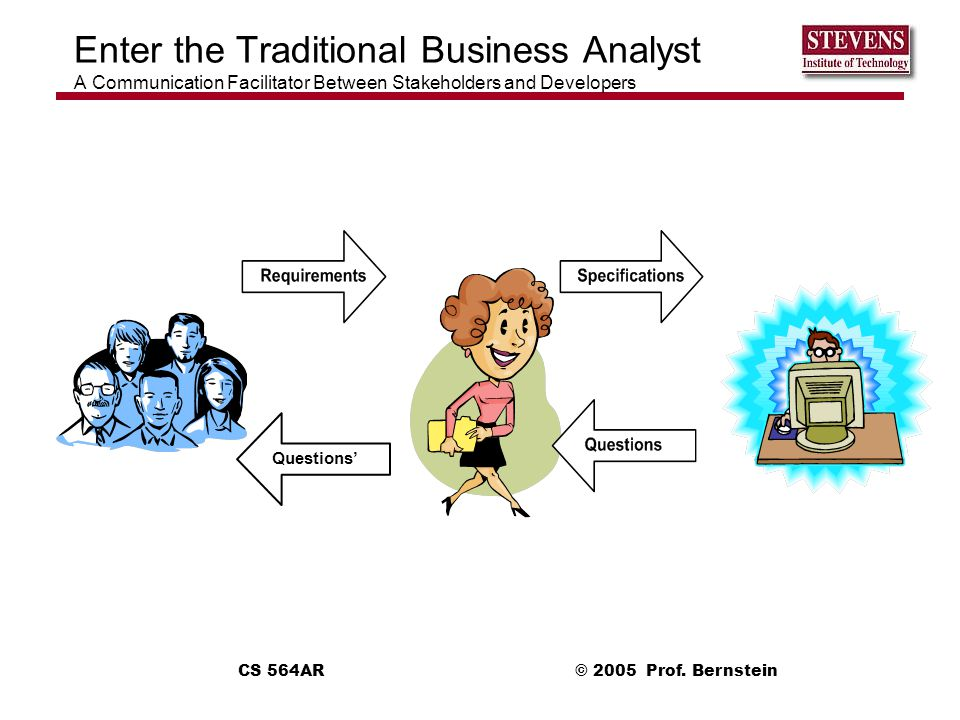 Enter the Traditional Business Analyst A Communication Facilitator Between Stakeholders and Developers