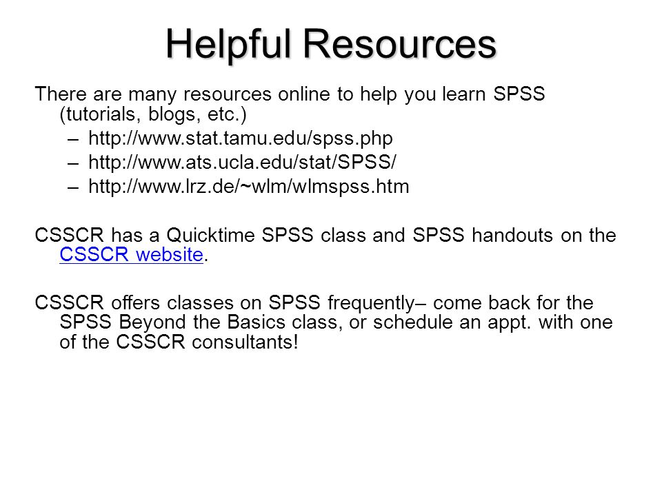 Introduction to SPSS (For SPSS Version 16 0) - ppt video online download