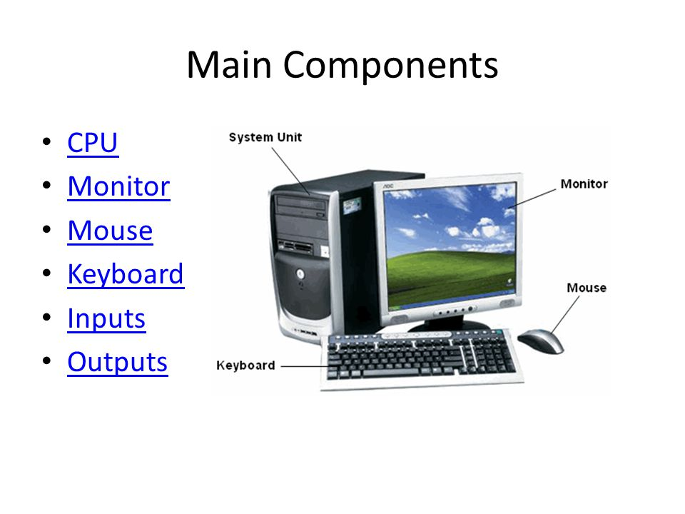 Introduction To The Computer Ppt Video Online Download