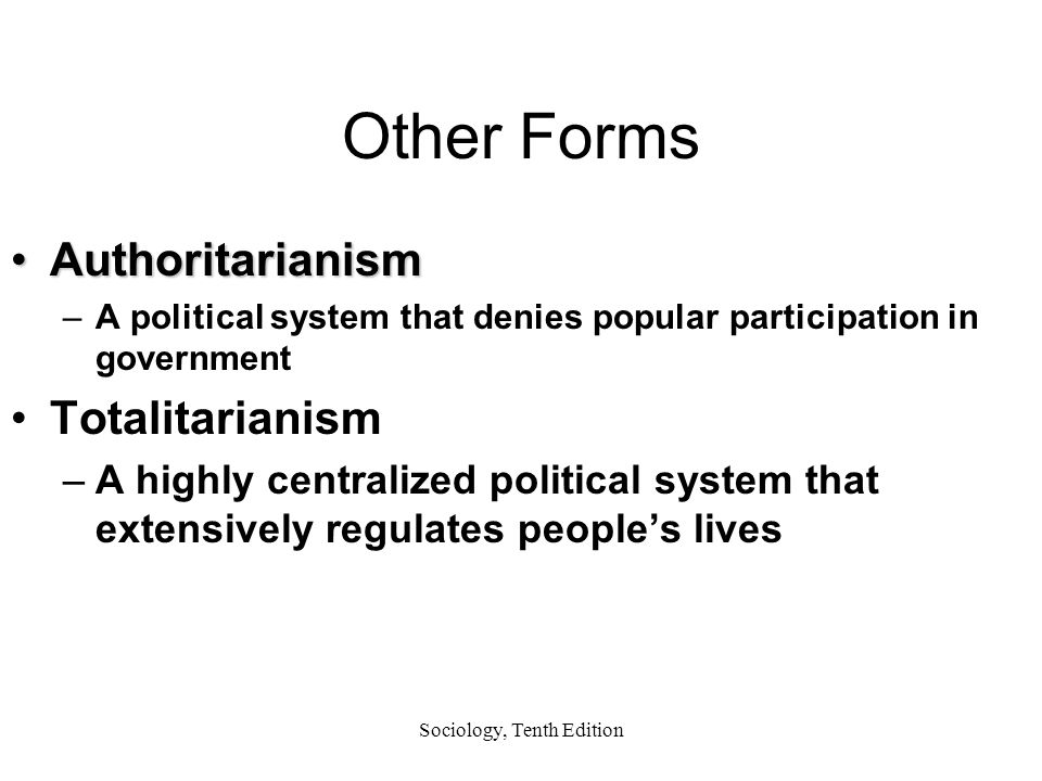 forms of popular participation