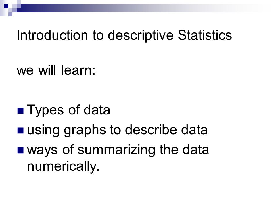 Chapter 2 Exploring Data With Graphs And Numerical