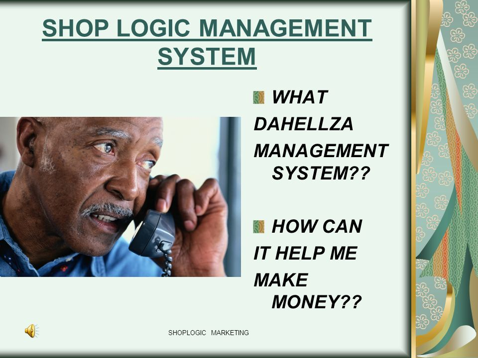 SHOP LOGIC MANAGEMENT SYSTEM