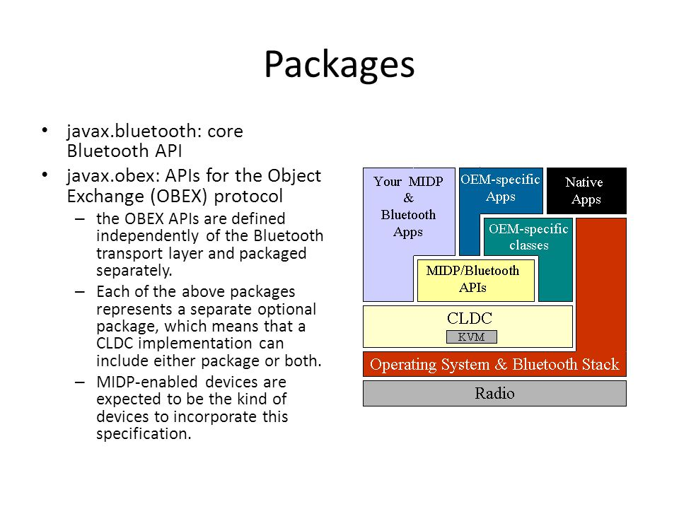 Bluetooth: Blackberry (JSR 82) And Android - ppt download