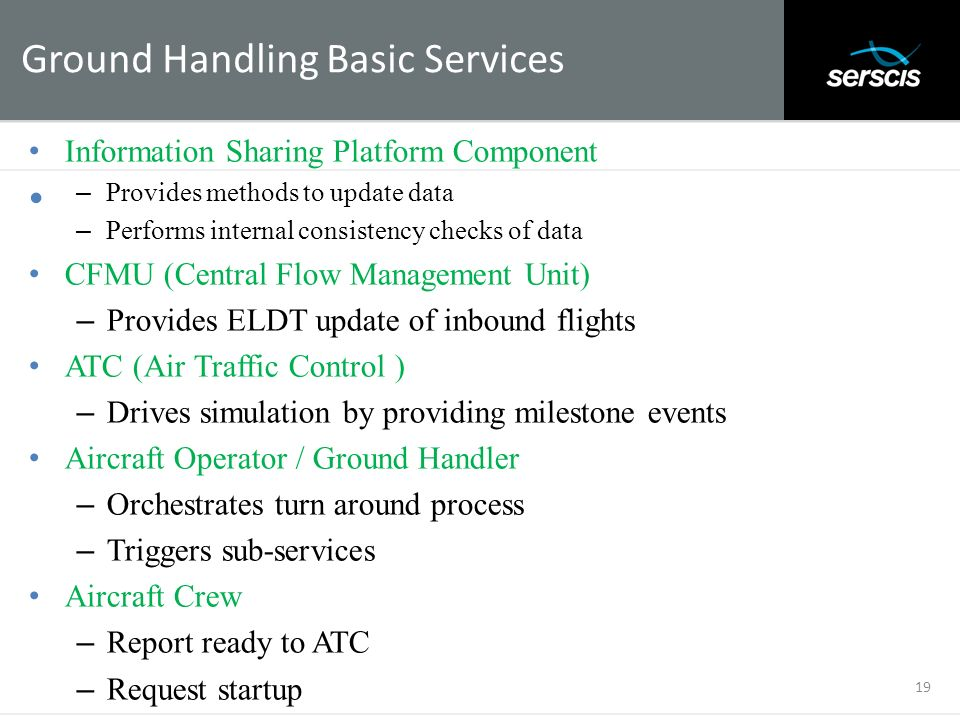 Ground Handling Basic Services