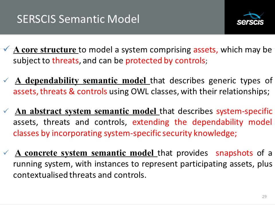 SERSCIS Semantic Model