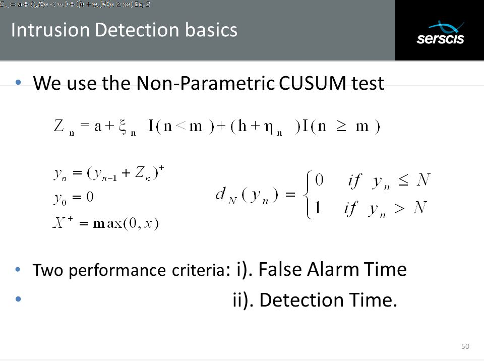 Intrusion Detection basics