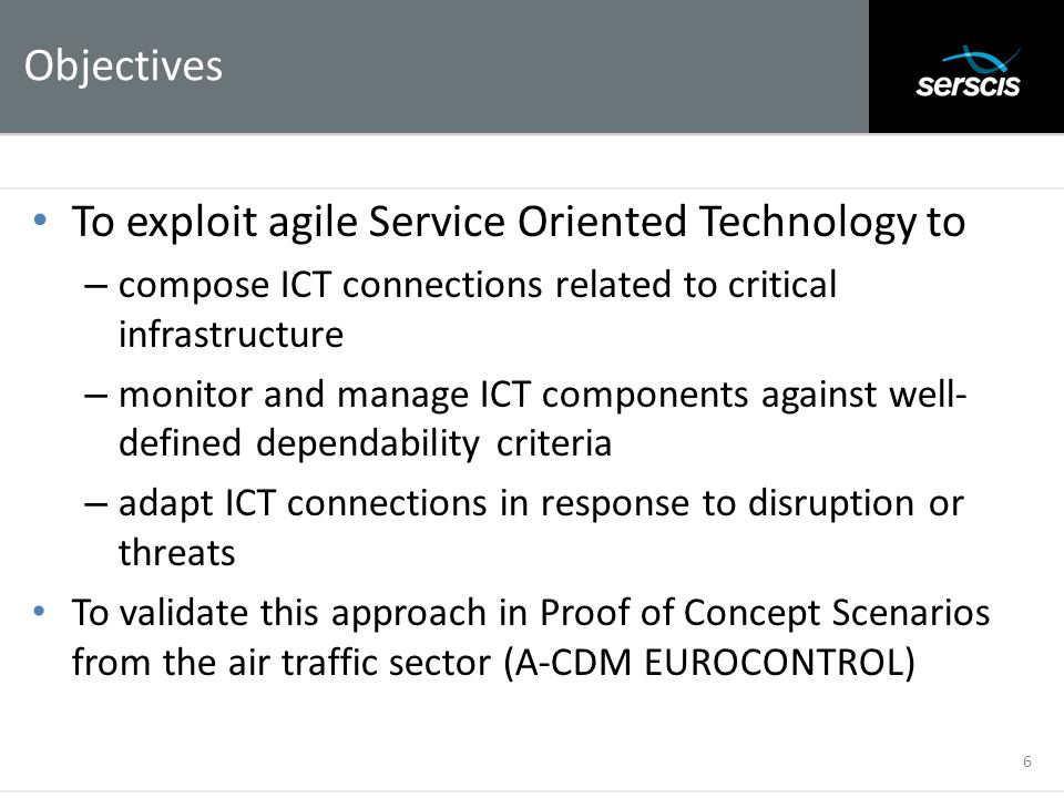 To exploit agile Service Oriented Technology to