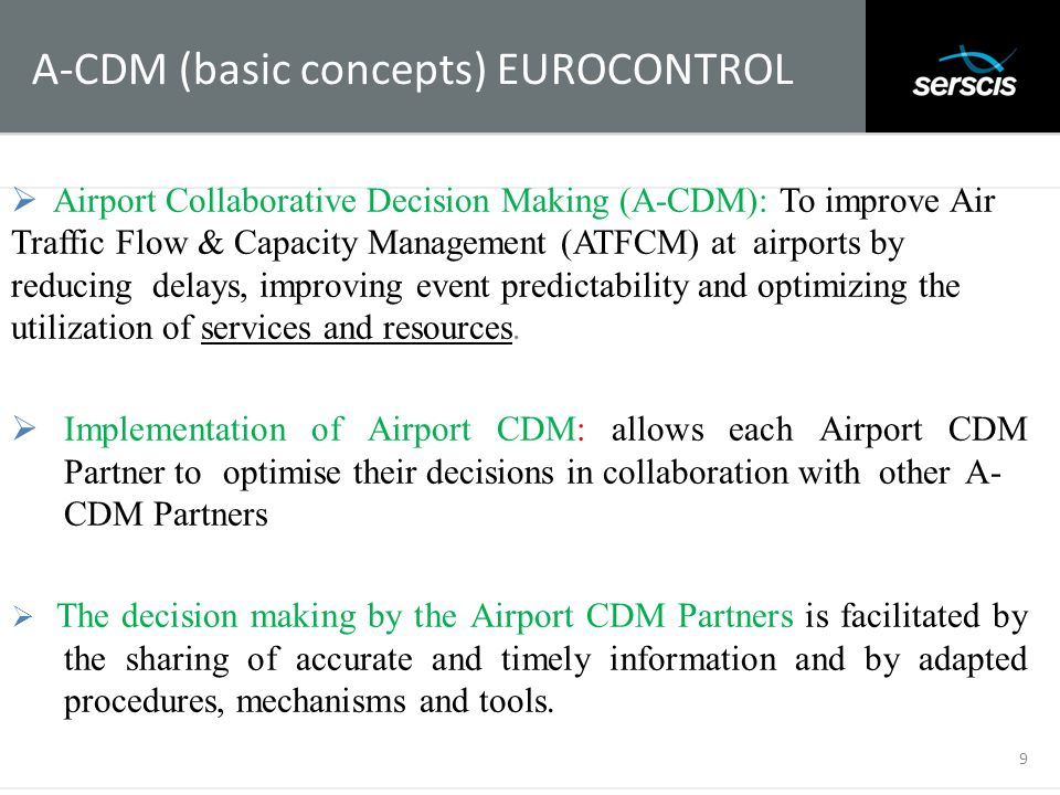 A-CDM (basic concepts) EUROCONTROL