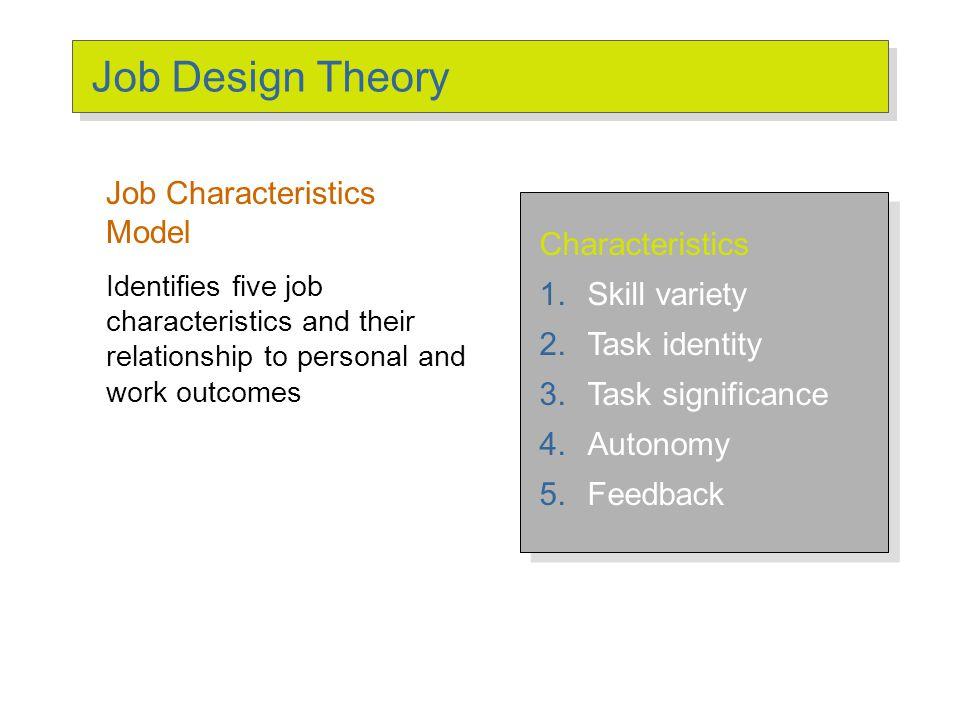 job characteristics model autonomy