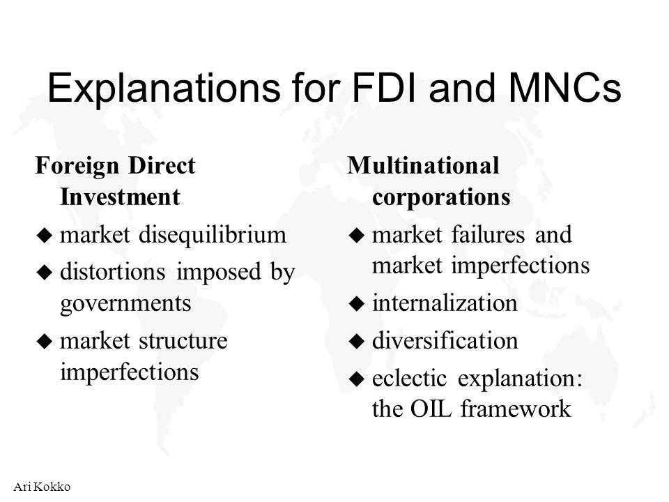 difference between fdi and fdi