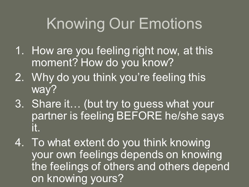 Read e-book Why Do I Feel This Way?: What Your Feelings Are