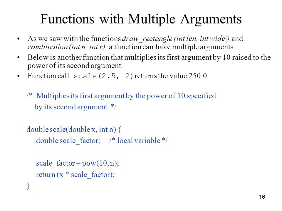 ICS103 Programming in C Lecture 9: Functions I - ppt video