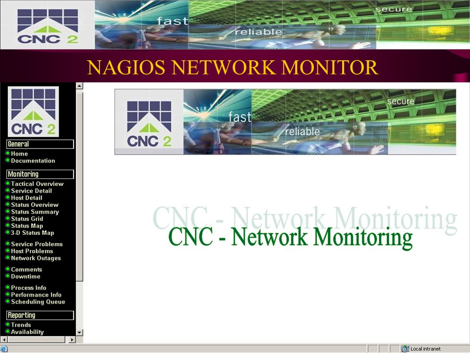 NAGIOS AND CACTI NETWORK MANAGEMENT AND MONITORING SYSTEMS  - ppt