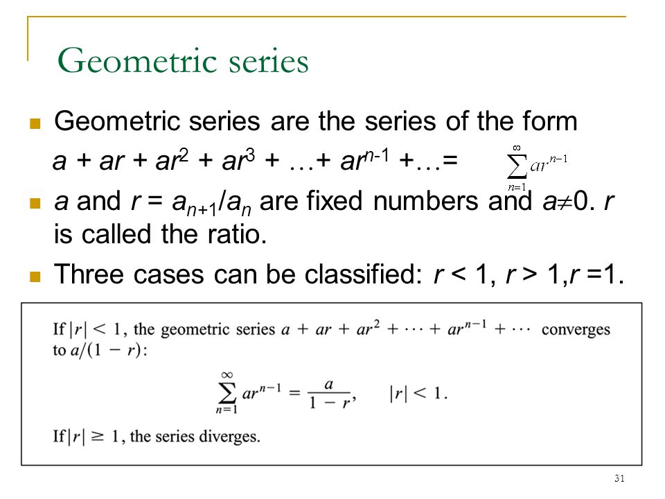 Infinite Sequences and Series - ppt video online download