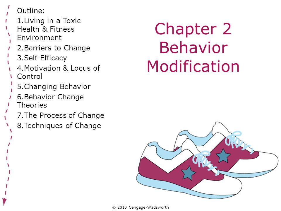 self behavior modification