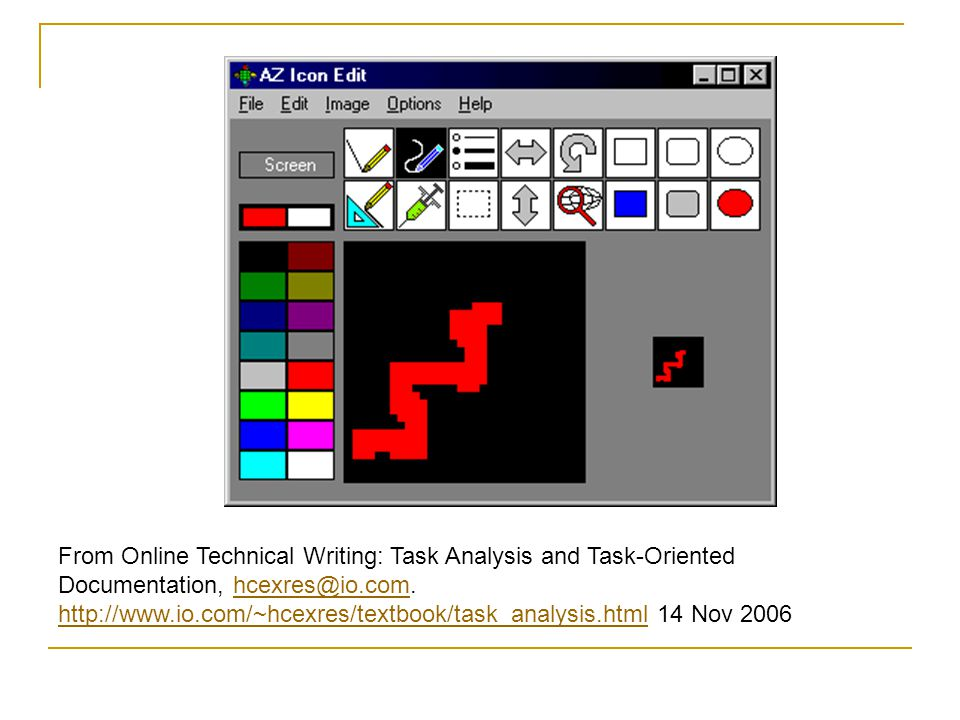 From Online Technical Writing Task Analysis And Oriented Documentation