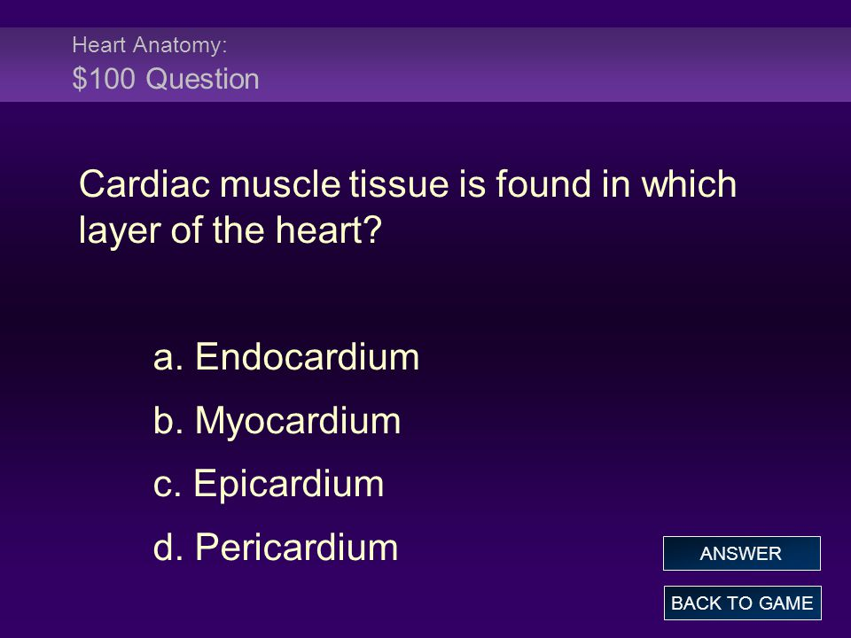 Chapter 18 - The Cardiovascular System: The Heart - ppt download