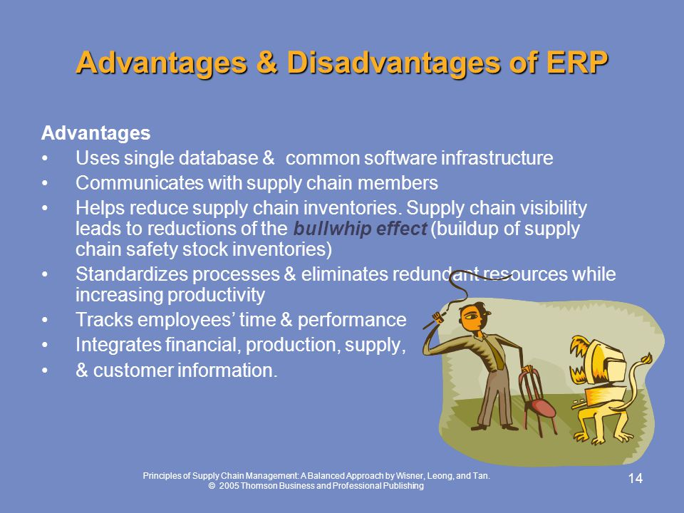 Advantages & Disadvantages of ERP