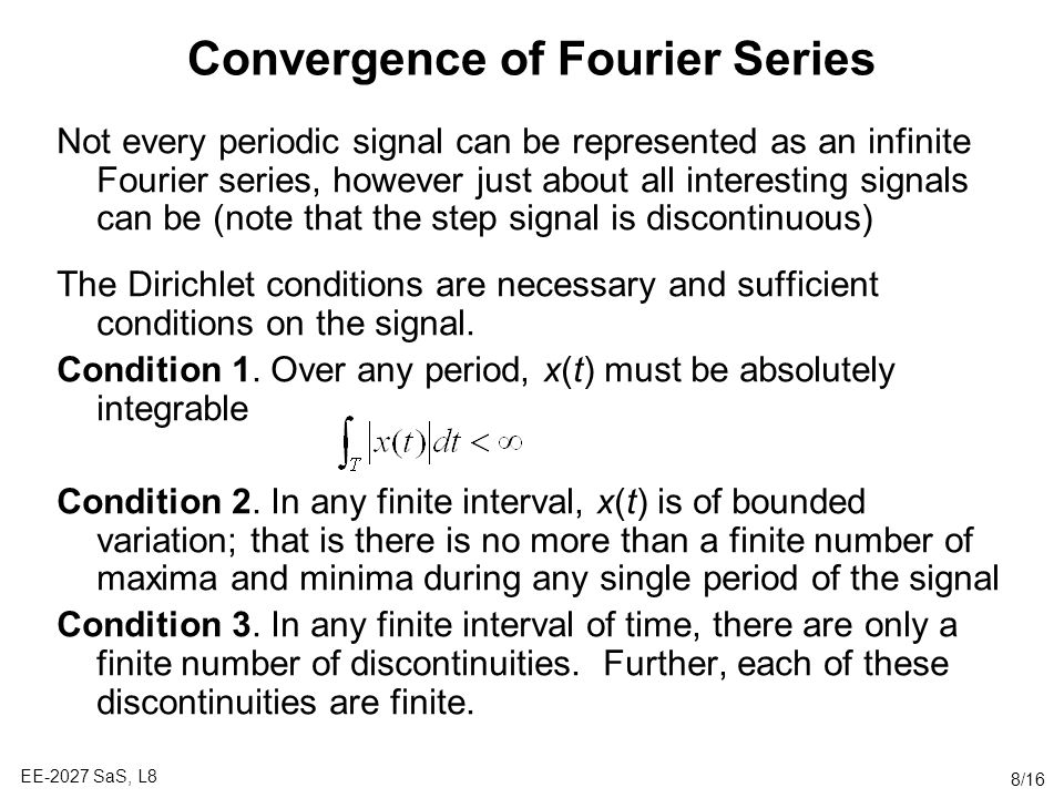 fourier series mec lecture notes