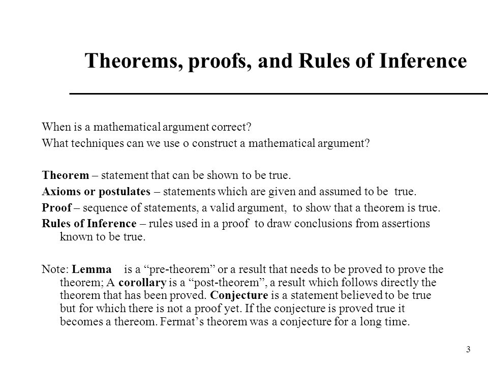 Discrete math 1 tutorial 29 rules of inference youtube.