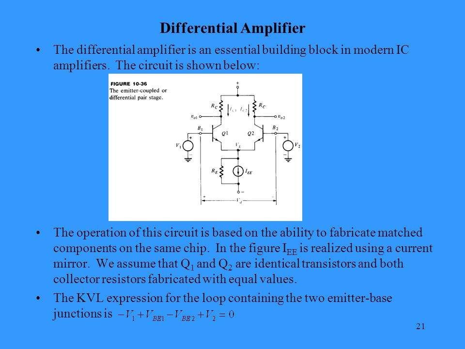 Chapter 2 Small Signal Amplifiers Ppt Video Online Download