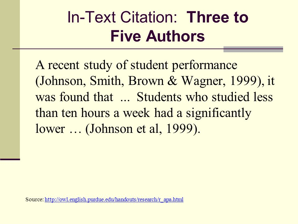 Documentation In Text Citations Parenthetical References