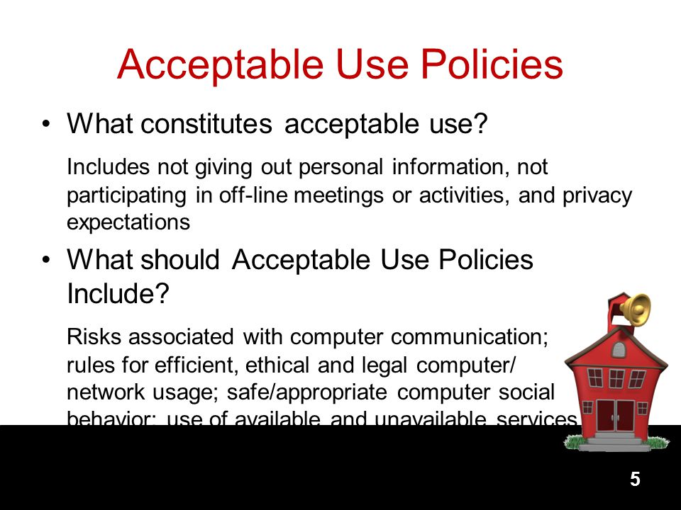 Acceptable Use Policies