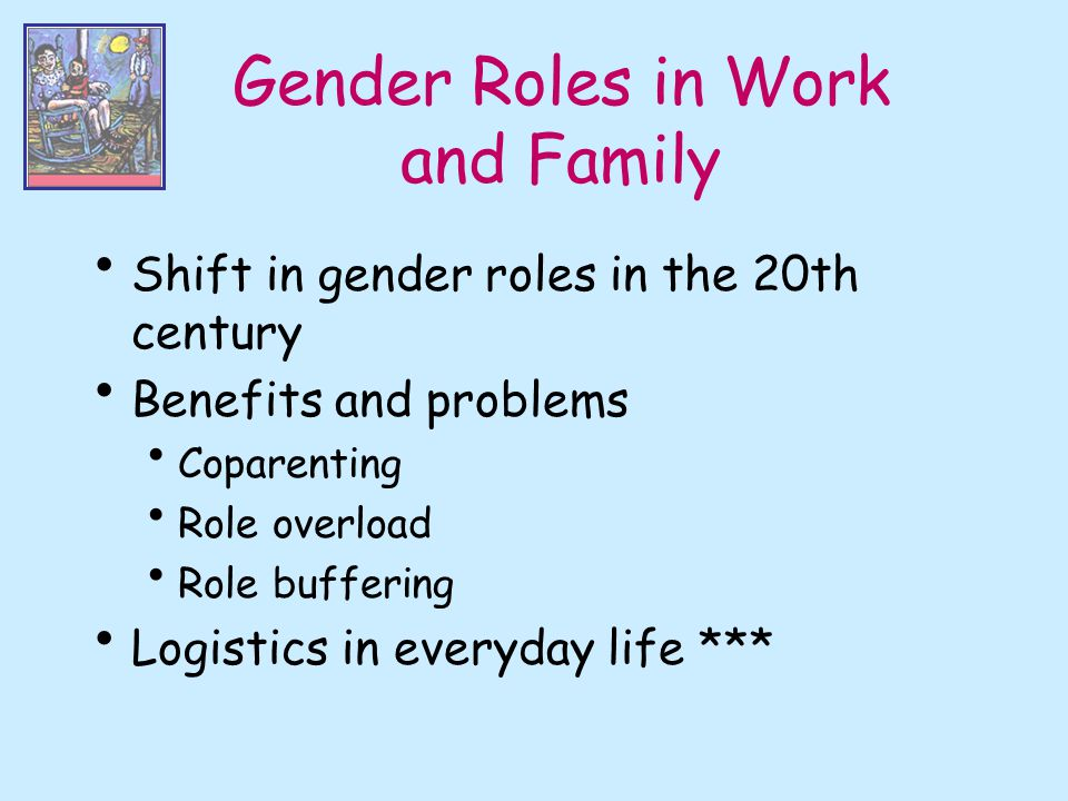 Gender Roles in Work and Family
