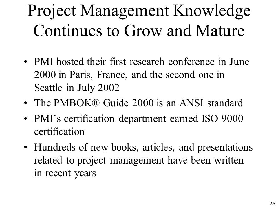 Chapter 1 Introduction To Project Management Ppt Download
