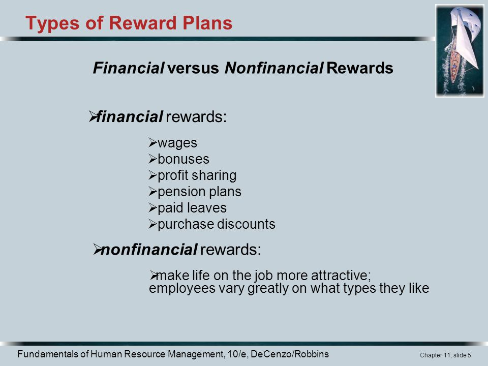 reward definition in hrm