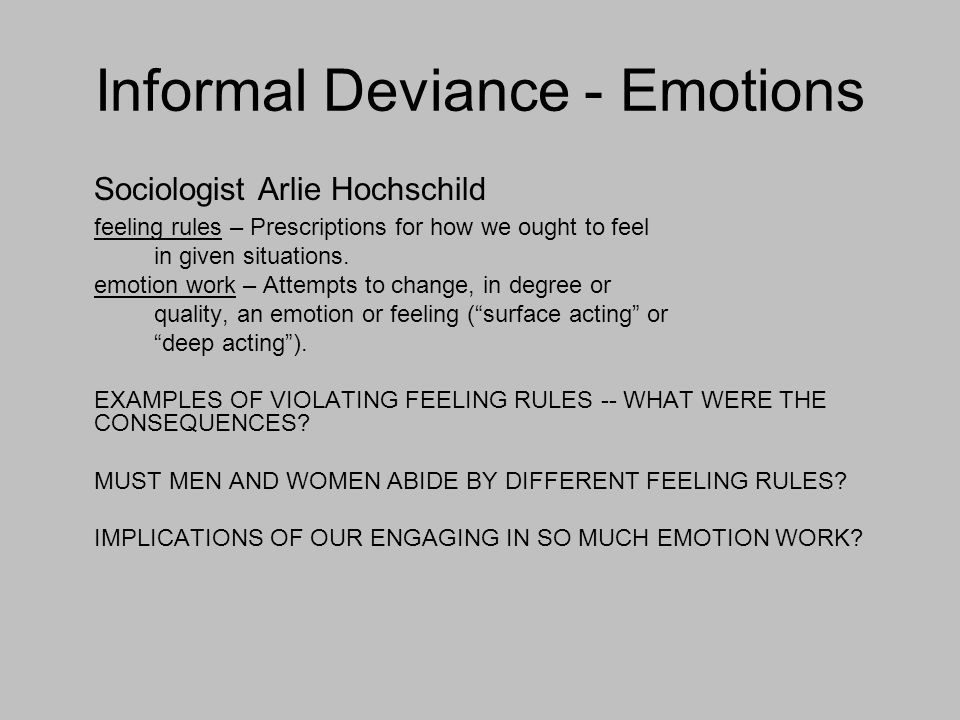 Deviance why is it important to study social deviance? Ppt download.