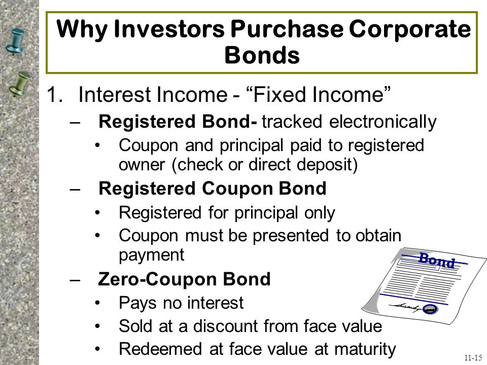 Why Investors Purchase Corporate Bonds