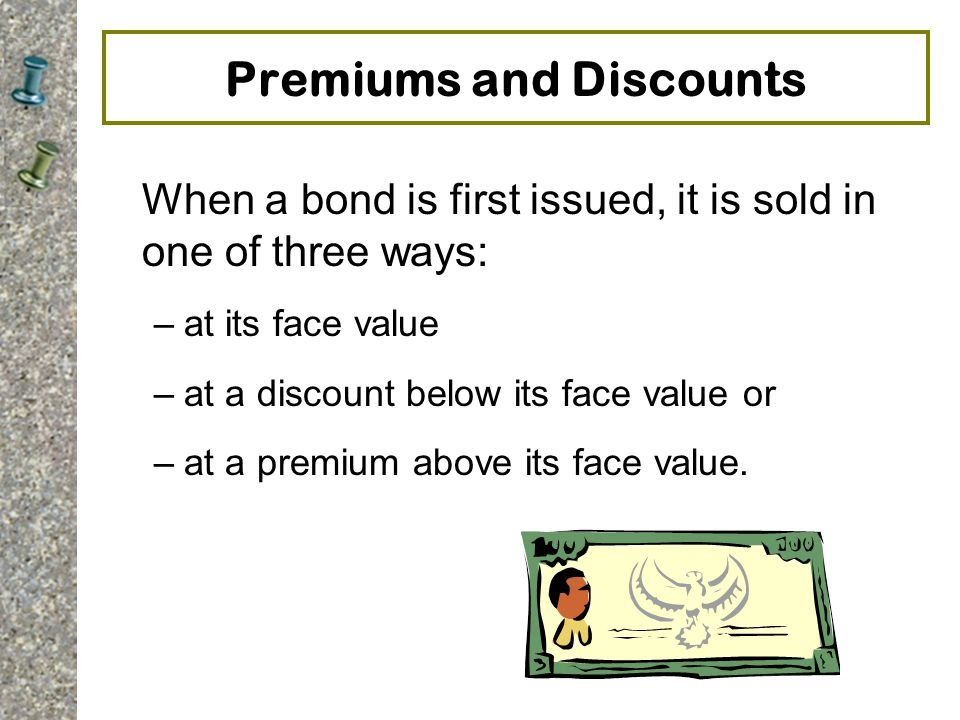 Premiums and Discounts
