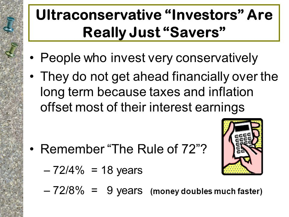 Ultraconservative Investors Are Really Just Savers