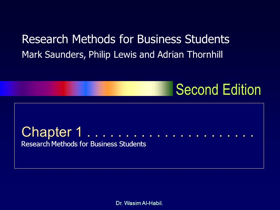research methods for business students business essay Research methods for business students - summary - download as pdf file (pdf), text file (txt) or view presentation slides online research methods for business students - summary search search.