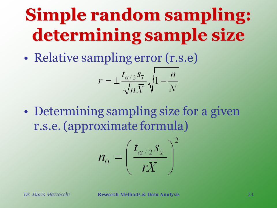Sample size for competing sampling methods as a function of value.