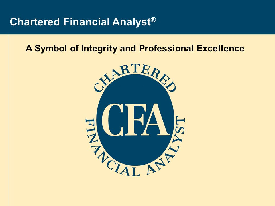 Sponsored By 2008 Cfa Program Revised 28 August Ppt Download