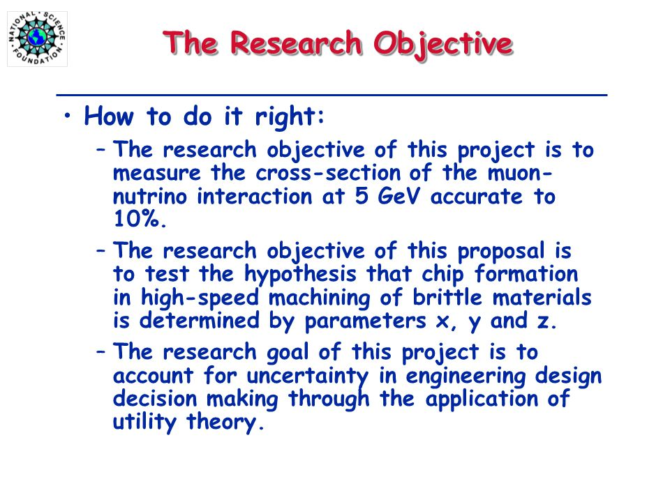objective research essay Writing an objective research paper requires you to set aside any opinions, assumptions or preconceived ideas in search of hard facts your goal should be to gather and interpret data with an open mind, even if your findings contradict your original hypothesis.