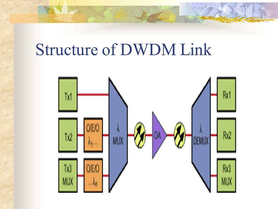Dwdm link engineering