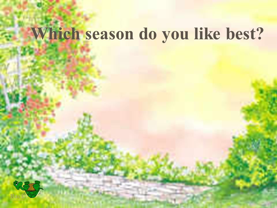 Which season do you like best