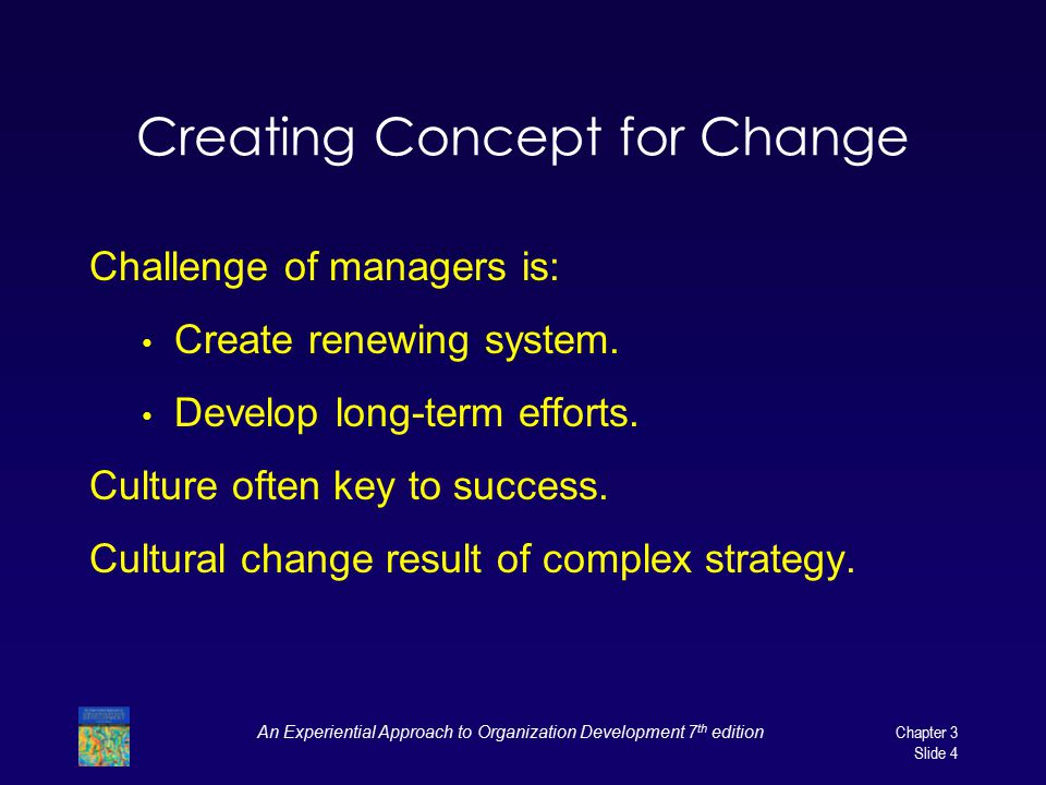 Creating Concept for Change
