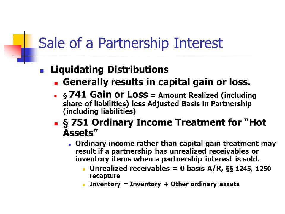 How corporations treat non-liquidating distributions subject